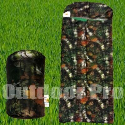 Bazoongi Sleeping Bag Pillow Case camouflage