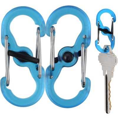 Nite Ize S-Biner Microlock blue