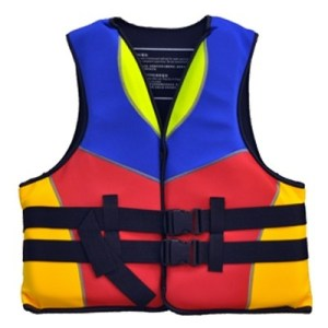 ODP 0291 Life Jacket blue red yellow