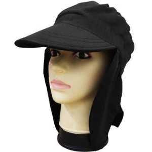 ODP 0315 Sun Protection Flap Cap black