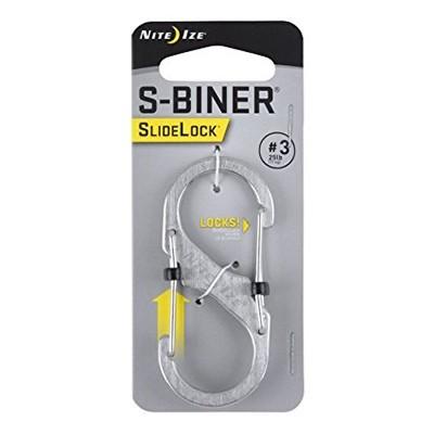 Nite Ize S-Biner Slidelock #3 stainless