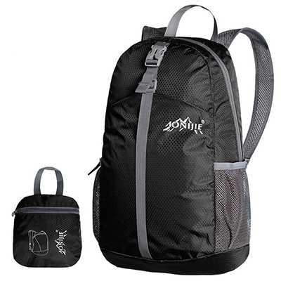 Aonijie 20L Foldable Backpack black