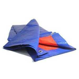 ODP 0428 Groundsheet 9' x 9' blue orange