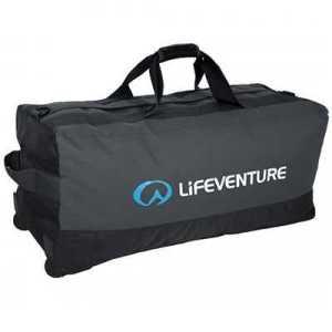 Lifeventure Expedition Wheelie Duffle 120L black charcoal