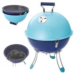 Coleman Party Ball Grill sky