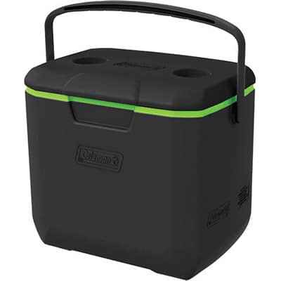 Coleman Cooler 30QT Excursion black green