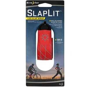 Nite Ize Slaplit V2 LED Slap Wrap red