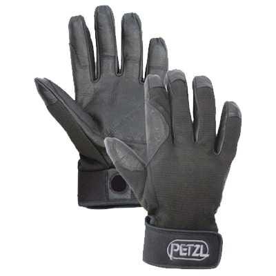 Petzl Cordex Belay Rappel Glove S black