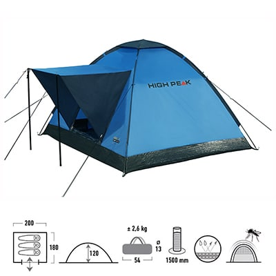 High Peak Beaver 3 blue-grey