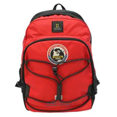 National Geographic Explorer Backpack red