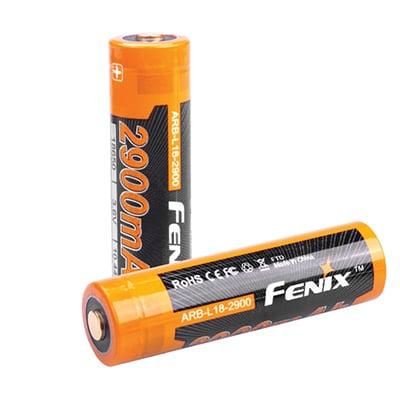 Fenix ARB-L18-2900 Rechargeable 18650 Li-ion Battery
