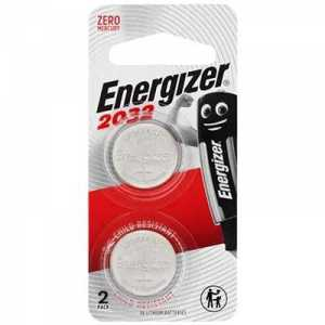Energizer CR2032 3V Lithium Battery 2pcs