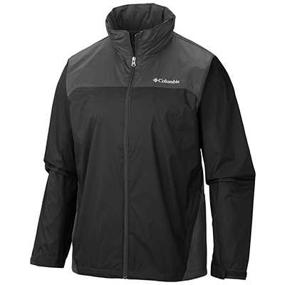 Columbia Glennaker Lake Rain Jacket S black grill