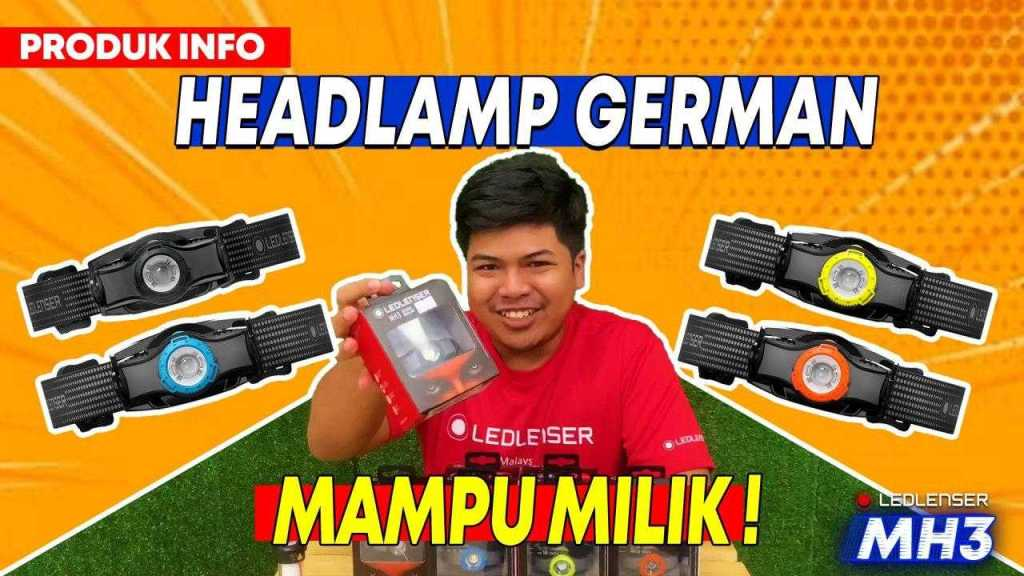 LEDLenser MH3 Headlamp