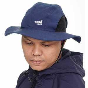 Tera Gears ODP 0543 Viagem Series Bucket Hat navy blue