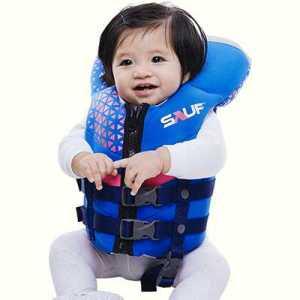 Sauf ODP 0593 Neovi Baby Life Jacket Under 14 KG pink blue
