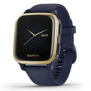 Garmin Venu Sq Music navy light gold