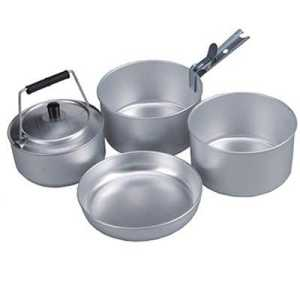 Ace Camp 4-Person Cooking Set
