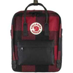 Fjallraven Kanken Re-Wool red black