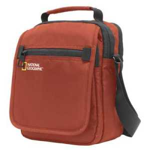 National Geographic Transform Utility Bag with Flap rust