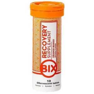 Bix Hydration Bix Recovery Supplement Effervescent Tablets Orange Mango