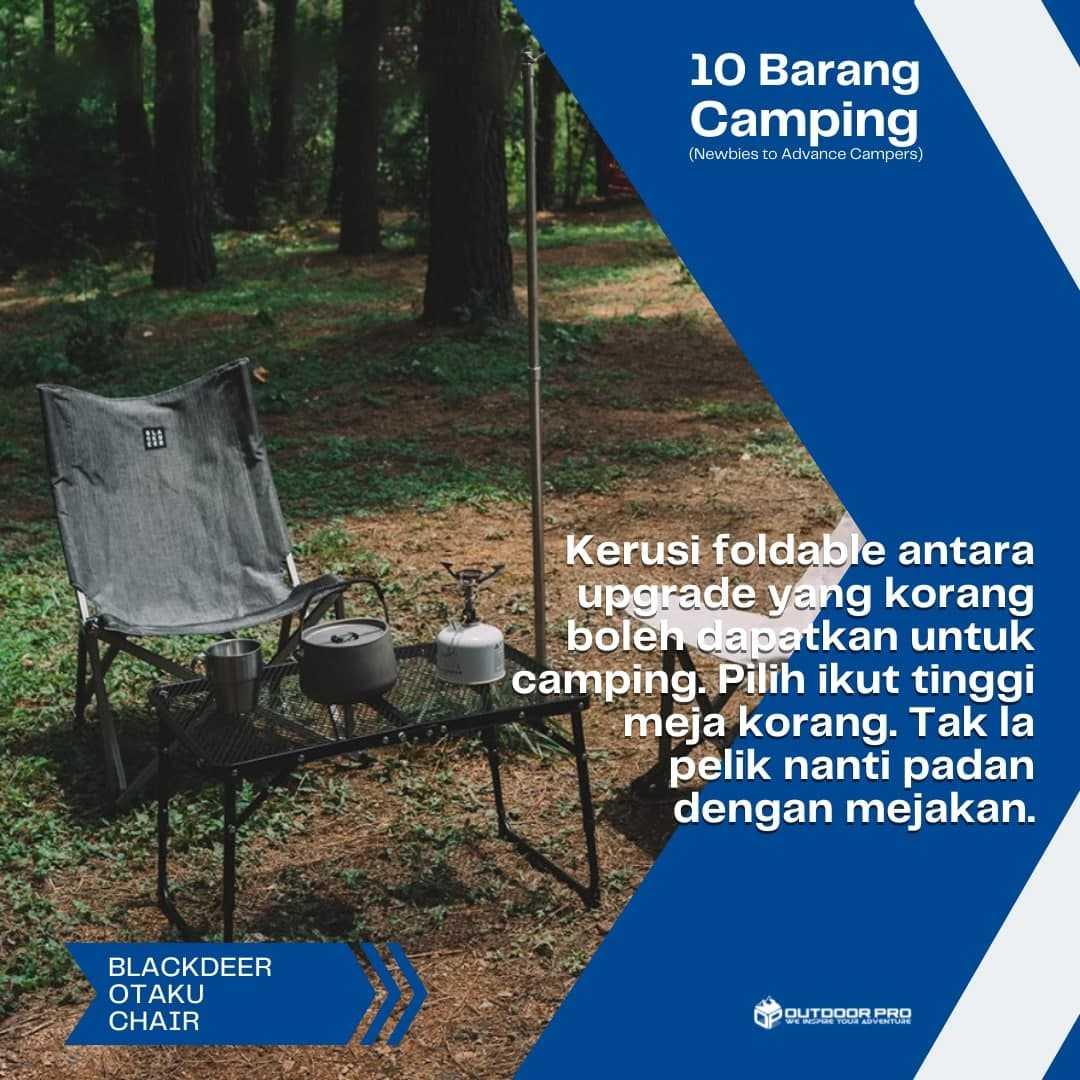 10 BARANG CAMPING YANG AKAN JADIKAN KORANG ADVANCE CAMPERS