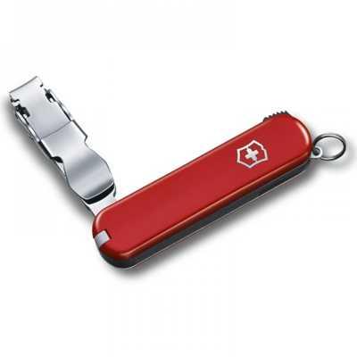 Victorinox 0.6453 Nail Clip 582 red