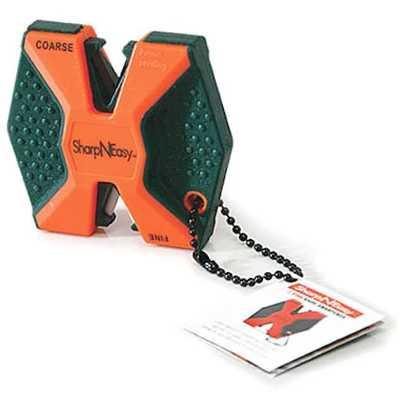 Accusharp SharpNEasy 2-Step Knife Sharpener orange