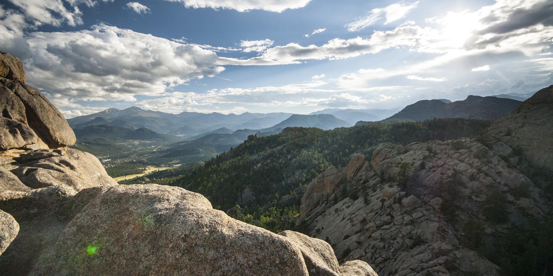 Gem Lake Hike Via Lumpy Ridge Trailhead
