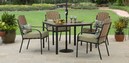 5 piece patio dining set