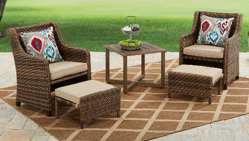 resin wicker patio sets hawthorne park
