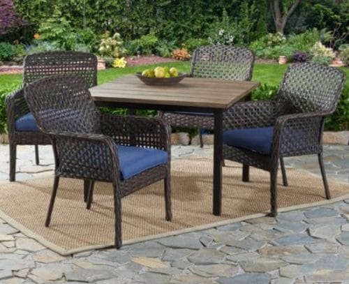resin wicker outdoor furniture sets