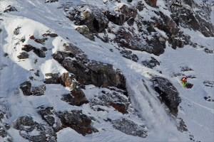 Big Mountain Shifahrerin Janette Hargin