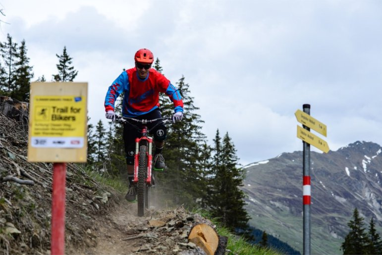 Trails for Bikers: 3-Länder Enduro Trails am Reschenpass