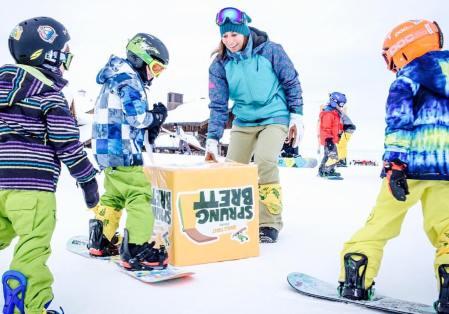 Nicola Thost lehrt Snowboarden auch nach der Karriere