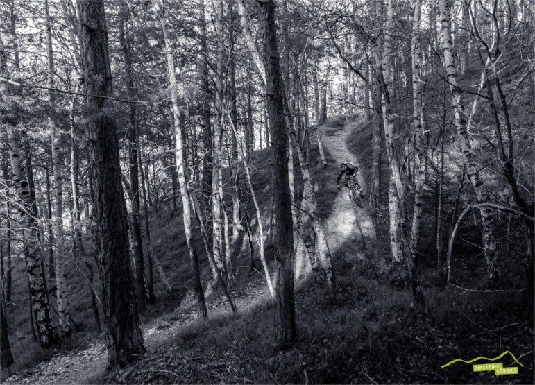 Downhillfahrt mit Jasper Jauch