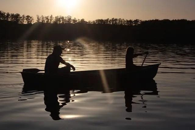 Paddle Sunset