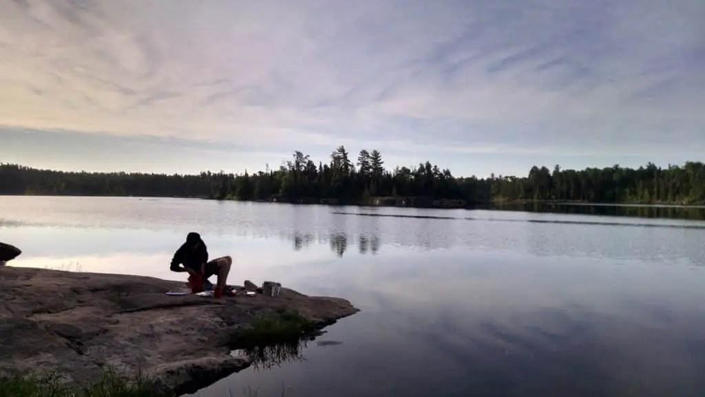 BWCA Iron Lake Morning Coffee - Secret Survival Skill