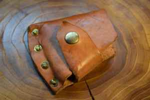 Leather Hatcher Sheath Cover