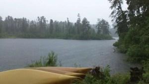 Camp Rainstorm BWCA