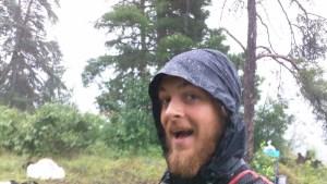 Happy in the Rain BWCA