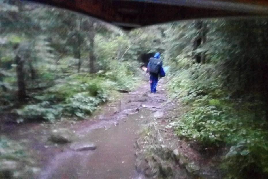 Portage in the Rain