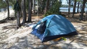Sturgeon Lake Campsite Quetico