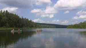 Follow the Leader down the lake BWCA