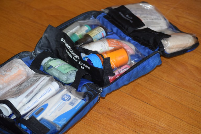 Wilderness First Aid Kit Open