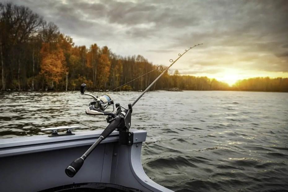 Fishing Rod on Boat