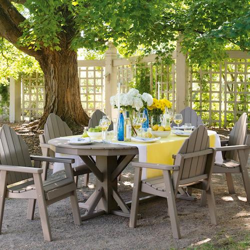 maintenance free furniture outdoor