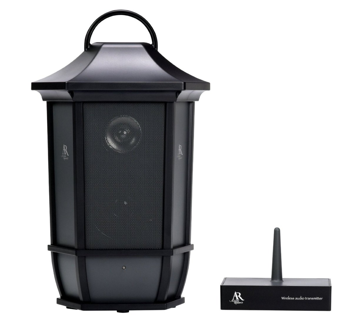 portable outdoor speakers. acoustic research wireless lantern speakers review \u2013 outdoor speaker supply portable