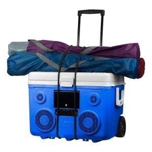koolmax rolling cooler with speaker