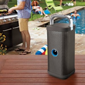 brookstone portable outdoor speaker